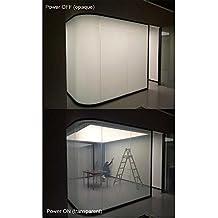 "HOHO Electronic PDLC Smart Film PDLC Switchable Smart Film Electric Smart Glass Window Film(19.6""X39.3"")"