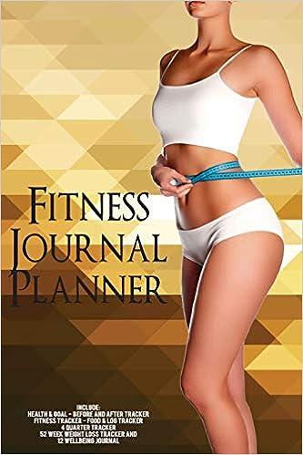 Fitness Journal Planner: Fitness Agenda, Fitness Planner ...