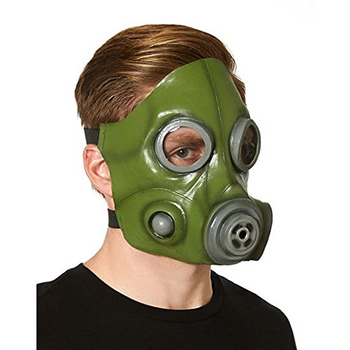 Costume Beautiful Green Anti Gas Mask