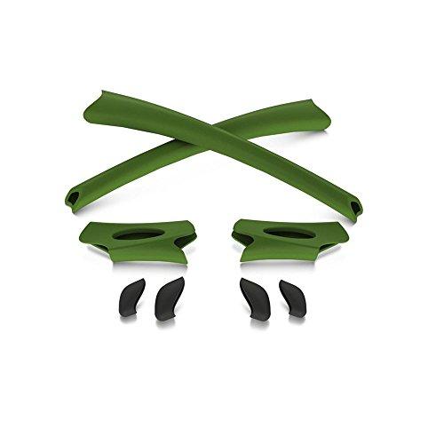 Oakley Flak Jacket Earsocks / Nosepads Kit Bright - Oakley Jacket Green