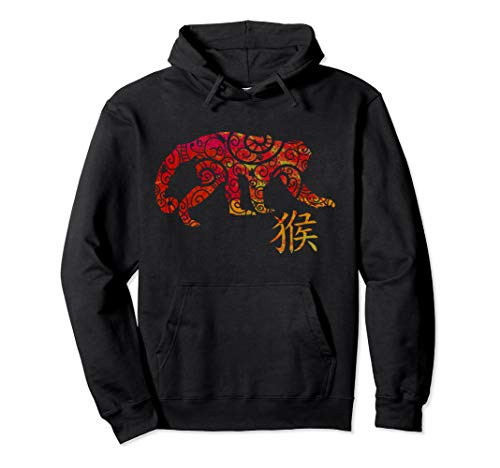 Year of Monkey Chinese Pullover Hoodie for $<!--$37.88-->