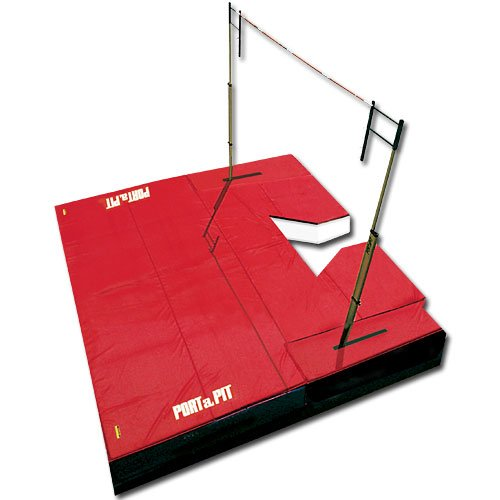"Port a Pit Pole Vault Landing System 22' x 22' x26"" Sold Per EACH"
