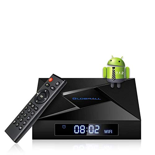 Globmall 4K Android 7.1 TV Box, 2018 Model X4 Smart, used for sale  Delivered anywhere in USA