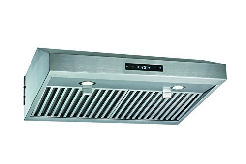 Blue Ocean 30 RHL01I Stainless Steel Island Mount Kitchen Range Hood