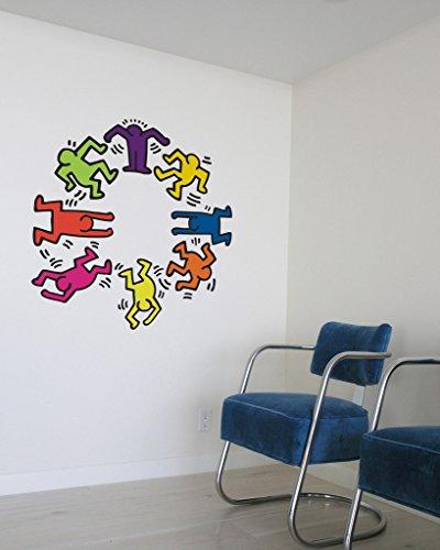 Blik Keith Haring Dancers (Blik Wall Decals)