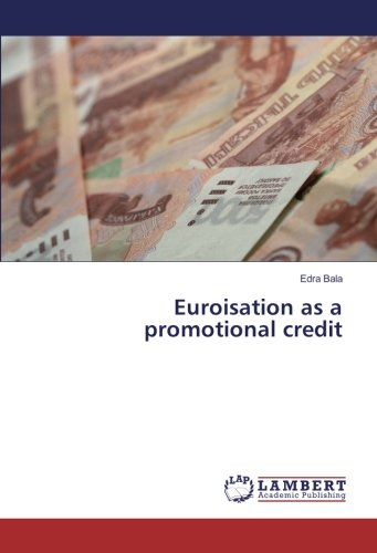 Euroisation as a promotional credit pdf epub