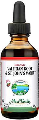 Maxi Health Valerian Root & St. John's Wort, 2 fl.oz.