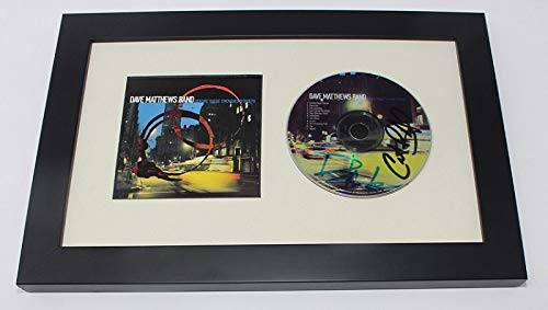 - Dave Matthews Band Before These Crowded Streets Carter Beauford Dave Matthews Signed Autographed Music Cd Compact Disc Framed Display Loa