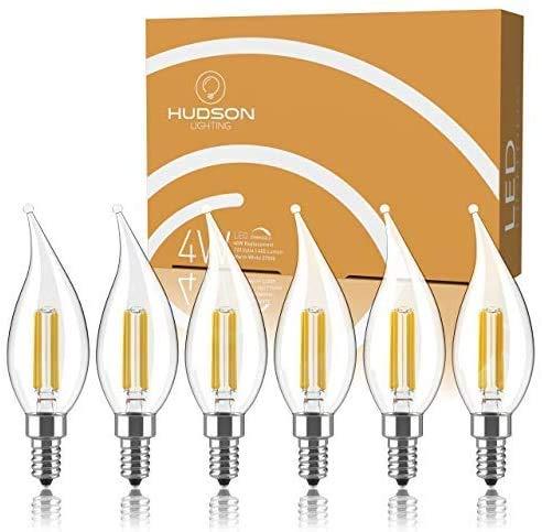 Dimmable E12 LED Candelabra Bulb Set