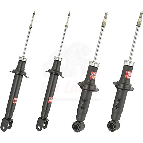 KYB Quick Mount Kit of 4 Struts (Front + Rear) fits NISSAN 300ZX 90-96 GR-2/EXCEL-G Twin Tube Gas Charged for Replacement, Performance, Leveling, Touring & 4x4 Offroad ()