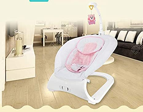 Peachy Shelzi Soft Musical Rocking Chair For New Born Baby With 3 Onthecornerstone Fun Painted Chair Ideas Images Onthecornerstoneorg
