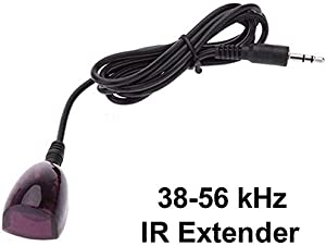 Dreamlink 38-56 kHz Wideband 5ft Infrared (IR) Receiver Extender Cable for Cable Boxes, DVR's & STB's. Check Compatibility.