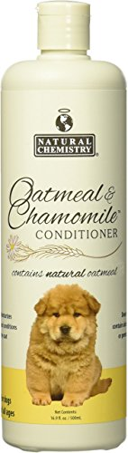 - Natural Chemistry Natural Oatmeal and Chamomile Conditioner for Pets, 16.9-Ounce