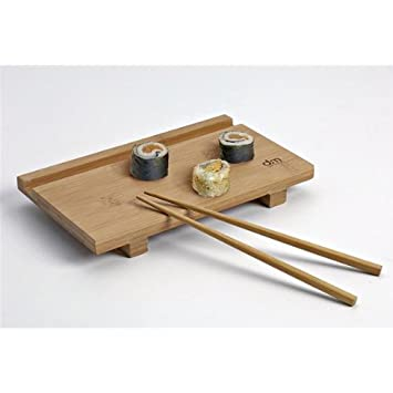 Dm Creation 00232 Brett Und Stabchen Fur Sushi Bambus Amazon De