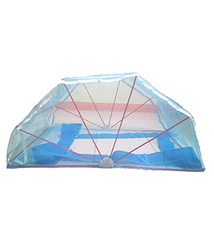 ans mosquito net 4x6 ft blue
