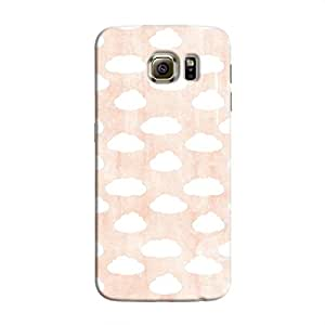 Cover It Up - Clouds Pink Sky Galaxy S6 Edge Hard case