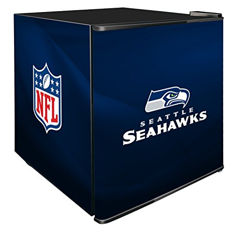 NFL Seattle Seahawks Refrigerated Counter Top Cooler, Small, Blue by SG Merchandising Solution