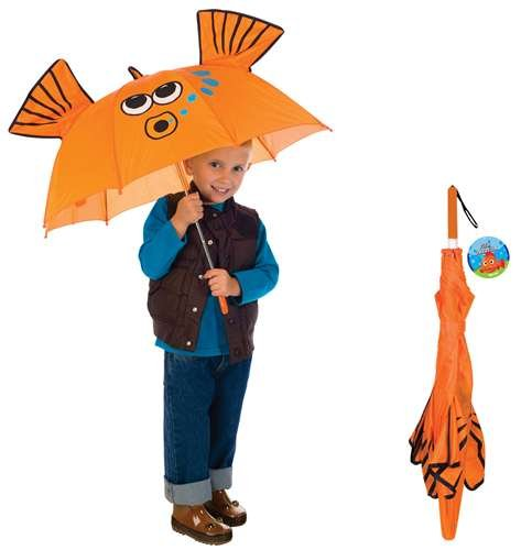 Goldfish Manual Umbrella Childrens Outdoor