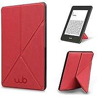 Capa Novo Kindle 10ª Geração WB® - Auto Hibernação Fecho Magnético Origami (Rosa)