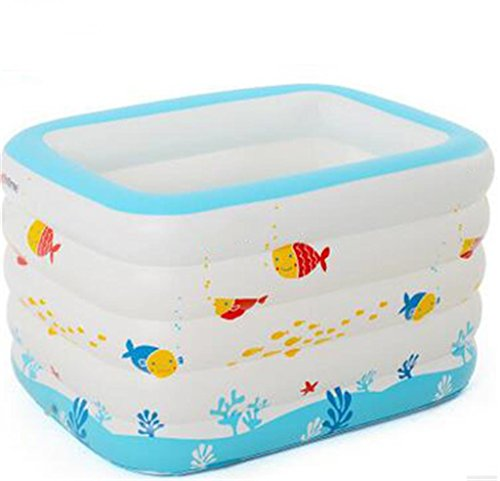 LQQGXL,Bath Child Inflatable Bathtub Inflatable Inflatable Pool Larger Pool Collapsible Ocean Pool Pool Swimming Pool Water Playground Inflatable bathtub by LQQGXL