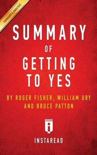 Download Summary of Getting to Yes By Roger Fisher William L Ury