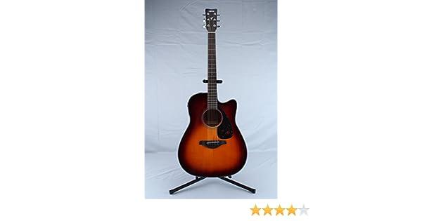 Yamaha fsx700sc parte superior sólida guitarra Cutaway Guitarra ...