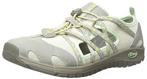 Chaco Outcross Kids Closed Toe Sandal (Toddler/Little Kid/Big Kid), York Aluminum, 5 M US Big (York Water)
