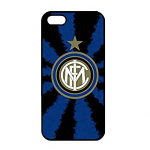 iPhone 5(S) Phone Caja del teléfono celular Funda Protection TPU Phone Cover for F.C Internazionale Milano Classic Design Milano Caja del teléfono celular Fundas