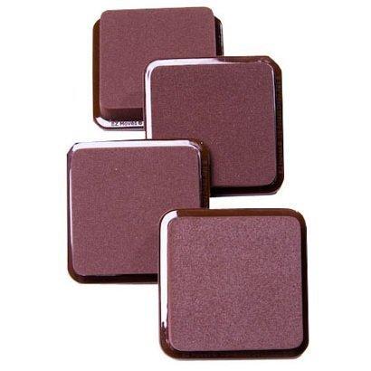 EZ Moves Permanent Furniture Slides - 3'x3' (Set of 4) Dark Brown