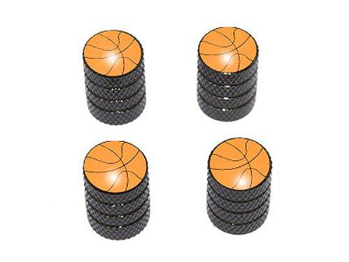 Basketball - NBA Tire Rim Valve Stem Caps - Black