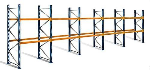 palé Estantería con 3 niveles, 3 m de altura, 14,0 M ancho ...