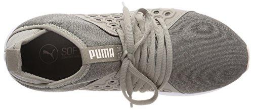 Mujer para Zapatillas Rock Puma Ridge pearl Enzo Mid Gris de Nf Wn's Cross xnq08Z