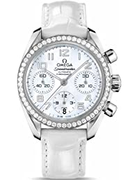 Omega Speedmaster Chronograph 38 mm Diamond Ladies Watch 324.18.38.40.05.001