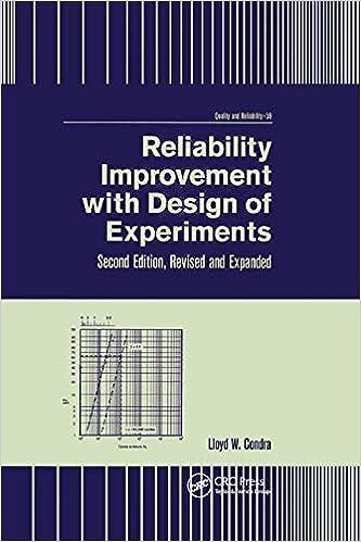 Mejora de la confiabilidad con diseño de experimentos