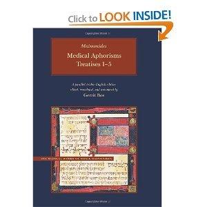 Medical Aphorisms byMaimonides ebook