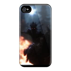Evanhappy42 Shockproof Scratcheproof Skyrim Your Final Memory Hard Cases Covers For Iphone 4/4s