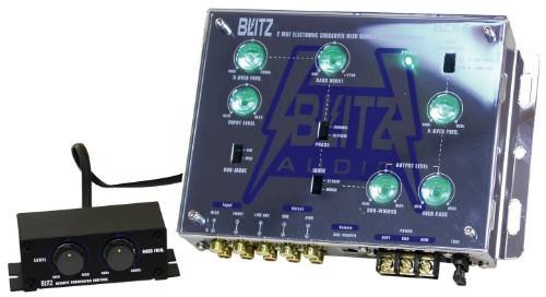 Blitz 2-Way Electronic Crossover Network with Subwoofer Level Control