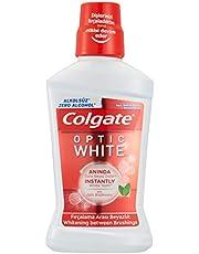 Colgate Plax Optik Beyaz Fırçalama Arası Beyazlık Alkolsüz Gargara 500 ml 1 Paket