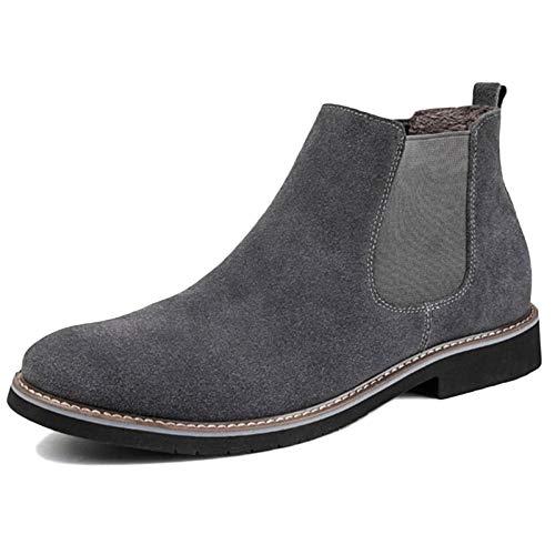 Classico Stivali Snow Chelsea Oxblood Boots Top Boots Uomo Desert Boots High Autunno Shoes Brogue Gray Sicurezza Traspirante Martin Pelle yqqS4rwYg