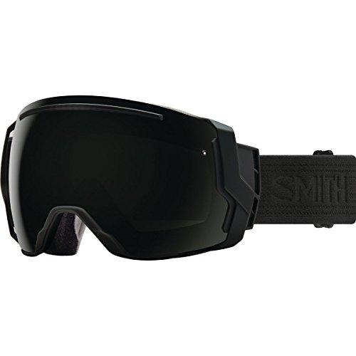 Smith Optics Adult I/O 7 Snowmobile Goggles Blackout / ChromaPop Sun Black by Smith Optics