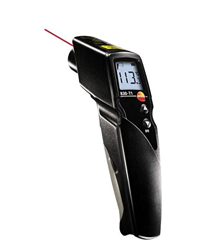 Testo 0560 8311 830-T1 IR Thermometer, 10:1 Optics and Laser Point by Testo (Image #3)