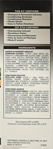 SoftSheen Carson Dark Natural 5 Minute Shampoo In Haircolor Natural Black