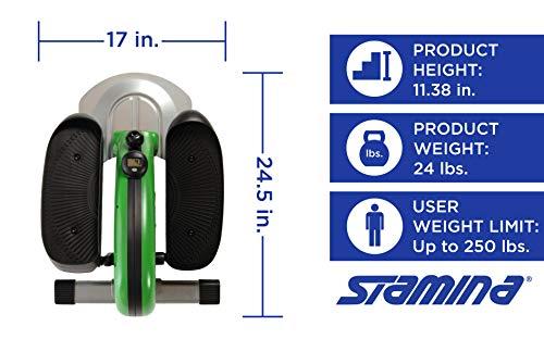 Stamina 55-1602 Inmotion Elliptical, Green by Stamina (Image #5)