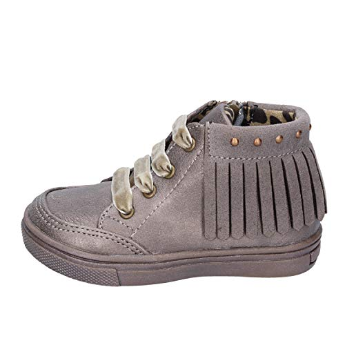 DIDI BLU Fashion-Sneakers Baby-Girls Leather Beige 4.5-5 US