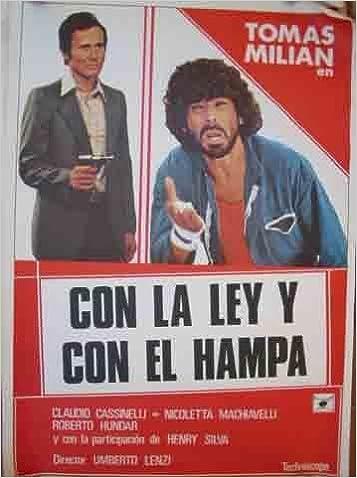 Poster Cartel de Cine - Poster Film : CON LA LEY Y CON EL ...