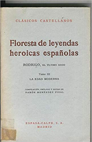 Amazon.com: Floresta de leyendas heroicas españolas tomo III ...