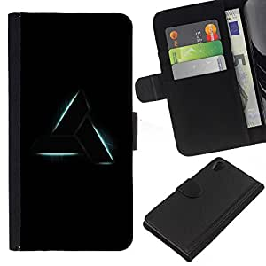 KingStore / Leather Etui en cuir / Sony Xperia Z2 D6502 / Schild