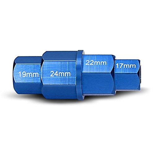 Llave Allen Hexagonal para Desmontar Rueda Delantera Moto para BMW HP2 Sport azul