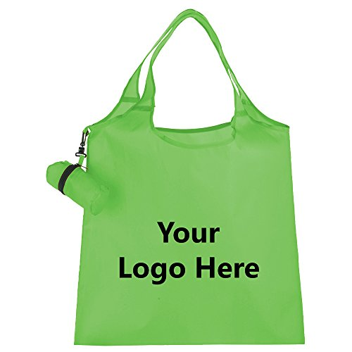 Rescue Fold Up Pouch Tote - 125 Quantity - $3.45 Each - PROMOTIONAL PRODUCT / BULK / BRANDED with YOUR LOGO / CUSTOMIZED by Sunrise Identity