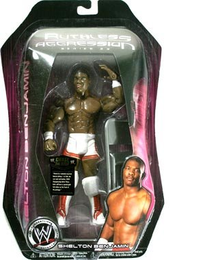 WWE Ruthless Aggression Series 23 Shelton Benjamin Action Figure